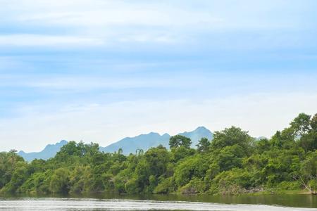 River Kwai in Kanchanaburi province in Thailand.