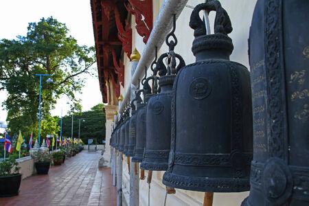 Golden Bells. Taken at wat phra non ,phetchaburi