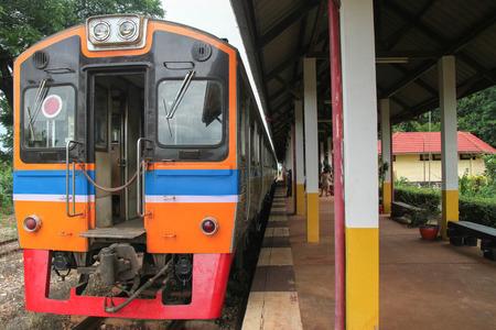 Railway In Thailand Editorial
