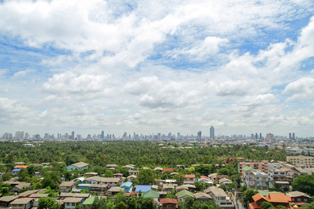 city scape in Thailand  Stock Photo