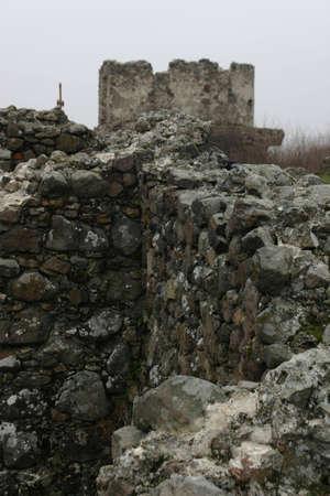 Castle walls Фото со стока