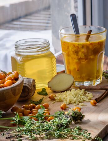 colds: Ingredients for homemade beverage strengthens the immune system and helpful of colds