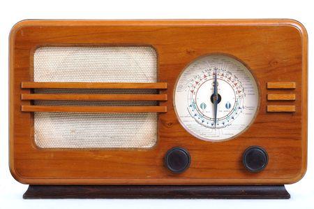 Retro radio Banque d'images