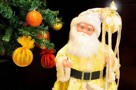 Golden Santa Claus photo