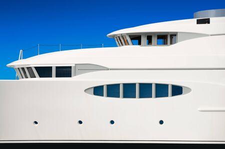 Luxury mega yacht  photo
