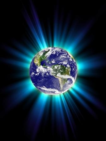 Planet Earth, corona