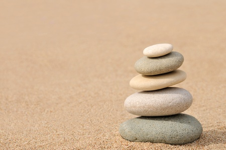stacked up: Balance, zen stones