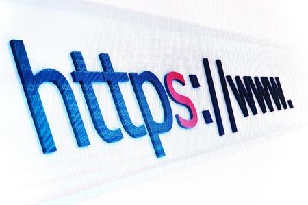 Https secure Banque d'images