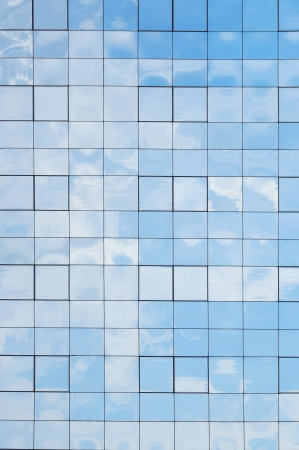 Glass building background