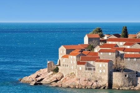 sveti: Old town island, Montenegro