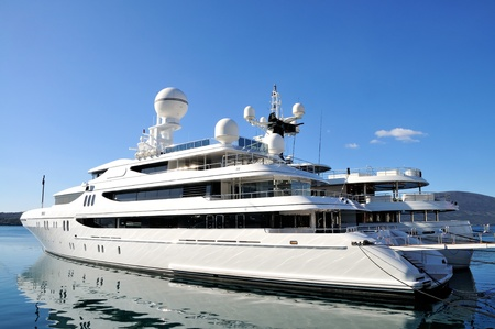 Luxury yachts photo