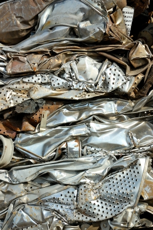 unwanted: Metal for recycling