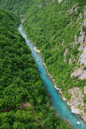 deepest: Canyon of river Tara, deepest canyon in the Europe, second in the world  State of Montenegro