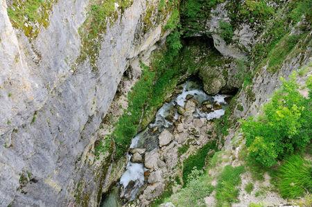 Canyon Nevidio, rivière Komarnica