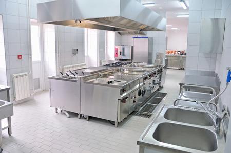 Cucina interna professionale Archivio Fotografico - 26799896
