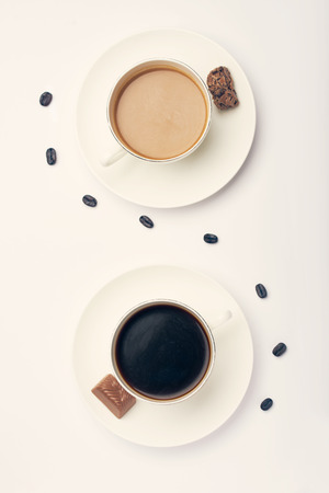 Morning coffee for two persons Imagens