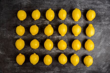 pedant: Picture of lemons on grey background