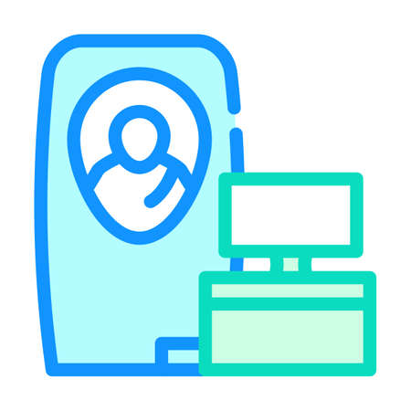 cryonics medical equipment color icon vector illustration