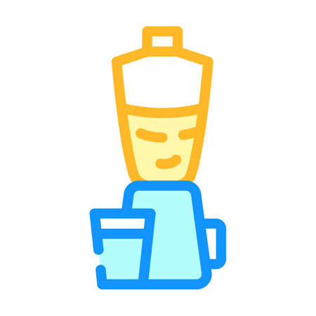 blender kitchen equipment color icon vector illustration Ilustrace