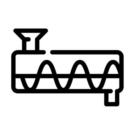 purifier equipment line icon vector symbol illustration