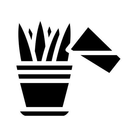 juicer equipment glyph icon vector illustration sign
