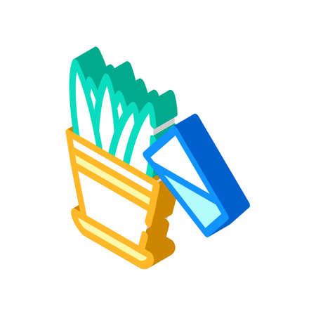 juicer equipment isometric icon vector illustration sign