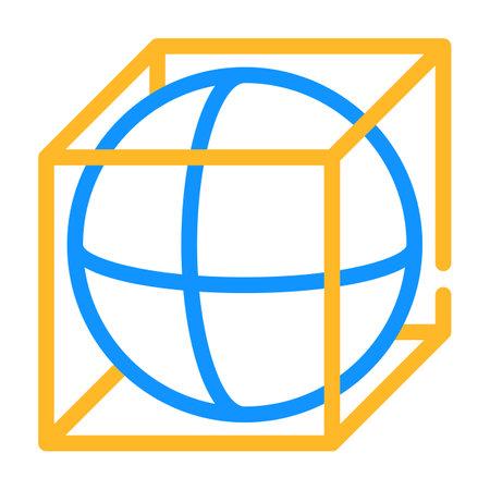 complex details color icon vector illustration color 向量圖像