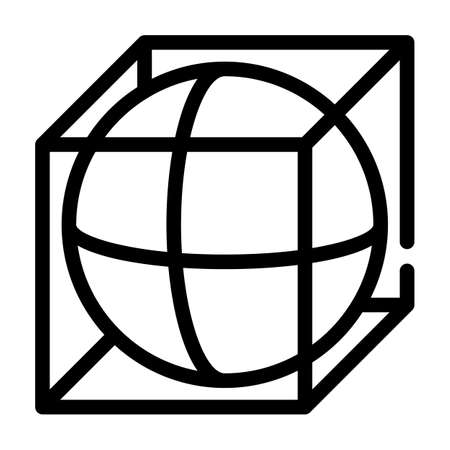 complex details line icon vector illustration flat