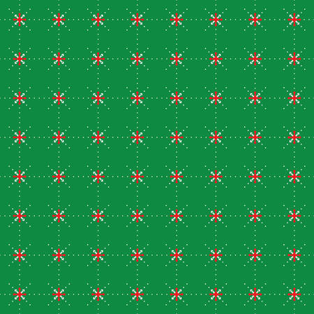 green tone: Green tone of christmas pattern vector background