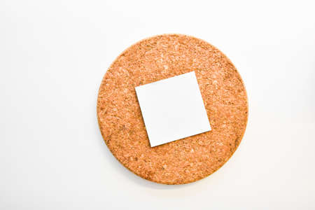 circular paper card