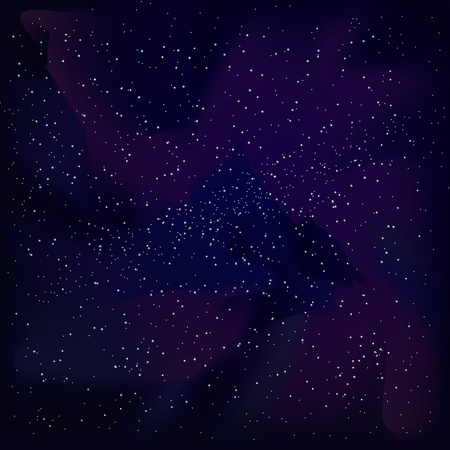 cosmic sky with interstellar gas cosmic clouds