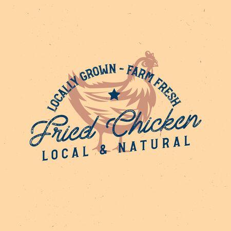 quality rooster   badge, emblem. Farm stamp of quality product Zdjęcie Seryjne - 149242369
