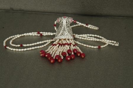 caftan: caftan necklace Stock Photo