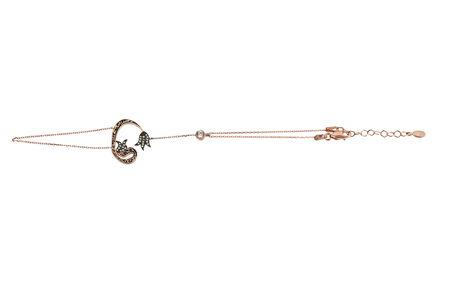 Vav o Waw letter sahmeran silver bracelet Zdjęcie Seryjne