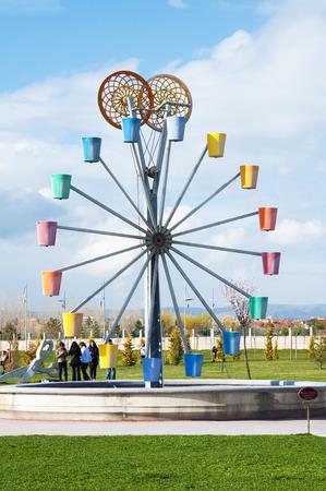 LUNA: Ferris wheel in the Eskisehir Luna park