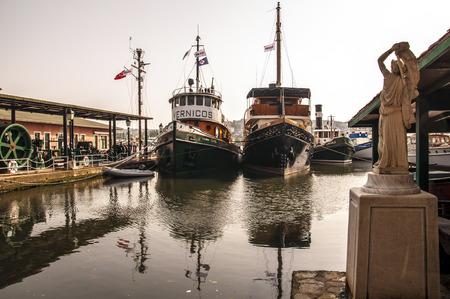 industry moody: industrial museum in Istanbul