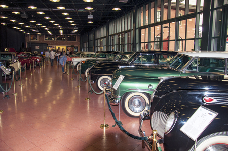 classic cars be on display in the museum Editorial