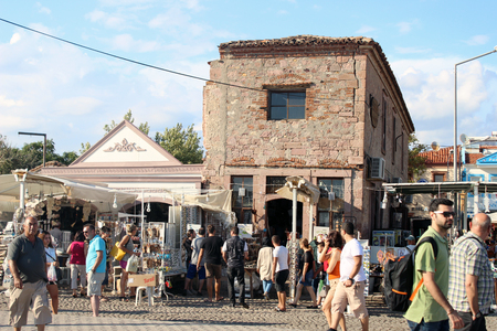 consequence: Historic Bazaar and shopping area at C Island