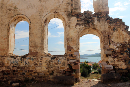 consequence: C island church ruins, Istanbul Stock Photo
