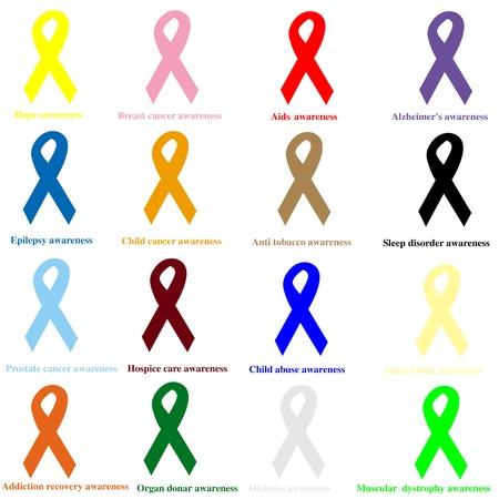 Awareness ribbons Zdjęcie Seryjne