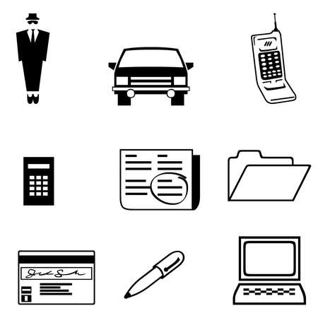 Business icons 2 Stock Photo - 11731342
