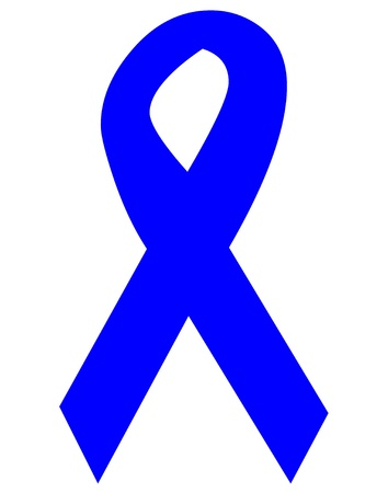 Child abuse awareness ribbon icon Stock Photo