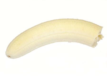 partially: Partially eaten banana