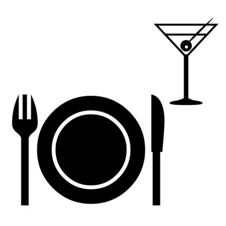 Dinnerware icons