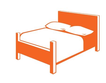Bed icon Standard-Bild - 11731488