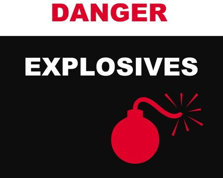 danger: Danger sign illustration