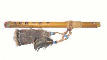 Native American flute Stock Photo - 11731581