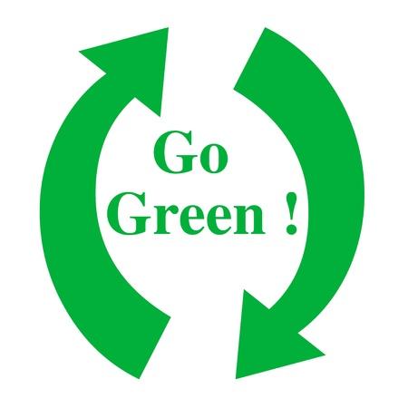 Recycle illustration Stock fotó