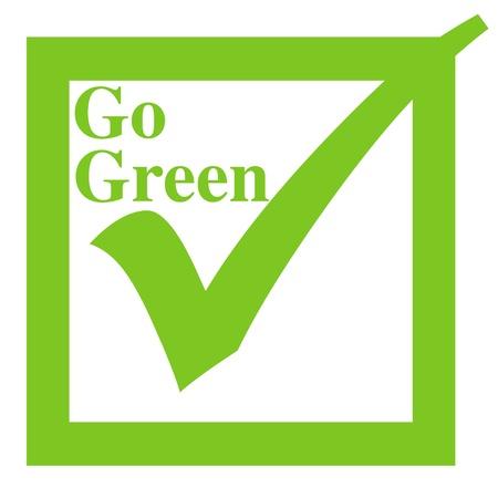 行く緑の図