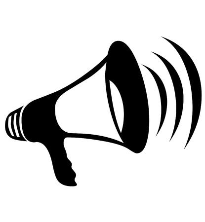 Hand speaker icon